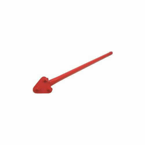 QLT BY MARSHALLTOWN 14739 Rebar Bender,5/8 Cap,34 In L,Steel,Red