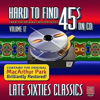 Various Artists   Hard To Find 45S On Cd V17  Late Sixties   Var  New Cd