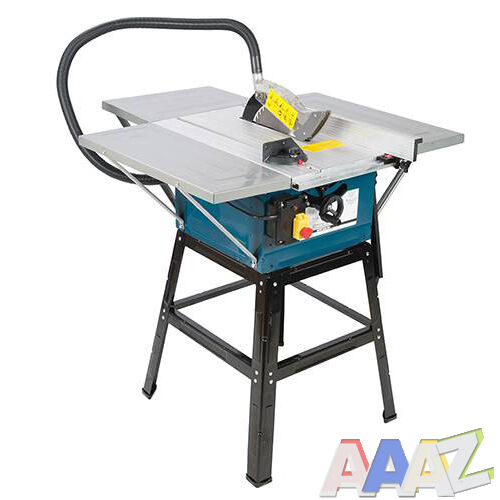 """TABLE SAW WITH POWERFUL 1600w MOTOR 10"""" BLADE WITH EXTENSIONS SILVERLINE"""