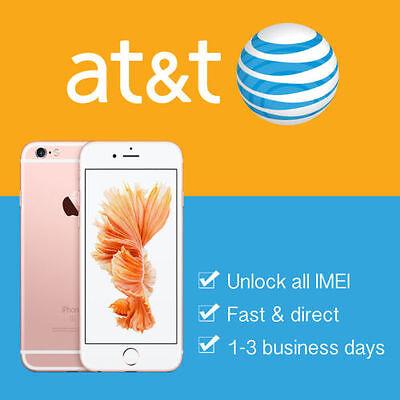 AT&T iPhone Premium Unlock Service ALL IMEI iPhone 7+ 7 6s+ 6s SE 6+ 6 5s 5c 5