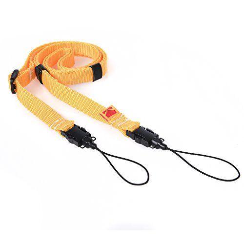 Kodak Printomatic Camera Neck Strap (Yellow) – Adjustable, Convenient, Practical