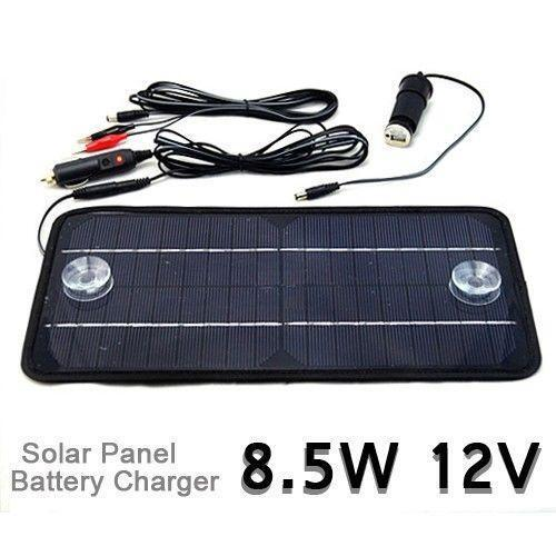 Solar 12 Volt Battery Charger Kit | eBay