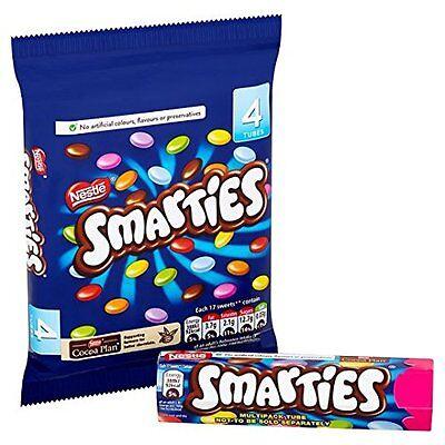 Nestle Smarties 4 Tube Pack 152g
