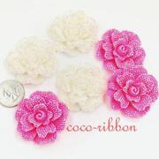 Large Flower Cabochons