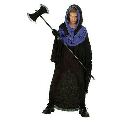 Boys Vengeance Horror Hooded Robe with Purple Collar Costume Small 4-6 (Purple Hooded Robe Kostüm)