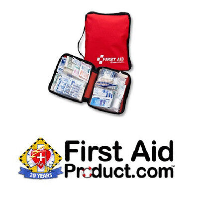 Our Best Selling Kit for 20 Years! First Aid Only® Red First Aid Bag Kit