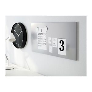 3 Magnetic boards, silver color (Ikea)