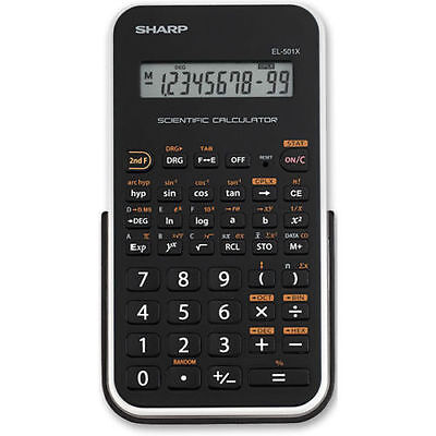 Sharp Scientific Calculator Handheld EL-501X