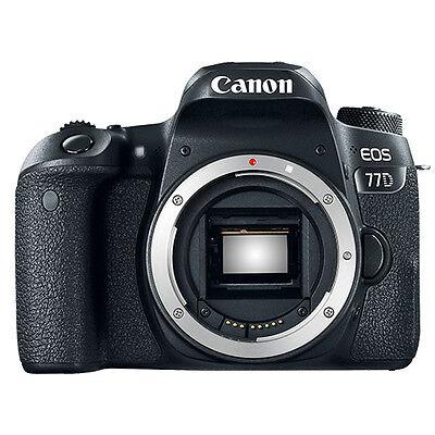 как выглядит Фотоаппарат Canon EOS 77D 24.2MP Digital SLR Camera Body фото