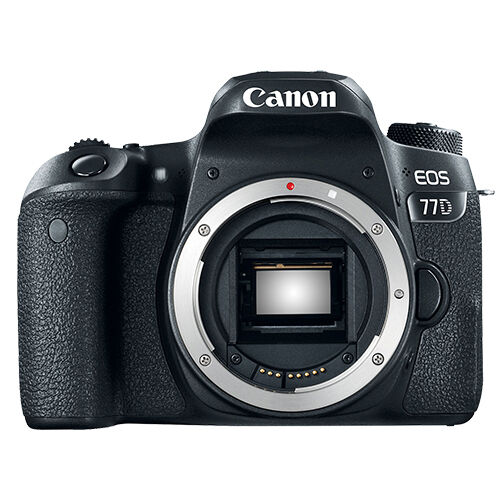 Canon EOS 77D DSLR Camera (Body Only) Black 1892C001