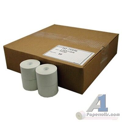 1 34 X 220 Thermal Cash Register Paper Rolls 50 Case