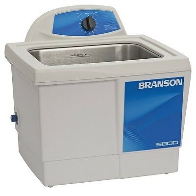 Branson M5800 2.5 Gallon Ultrasonic Cleaner W Mechanical Timer Cpx-952-516r