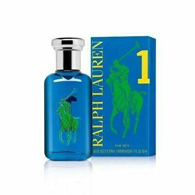Ralph Lauren Polo Big Pony Blue #1 1.7 oz EDT spray mens cologne 50ml NIB