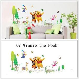 winnie pooh wandtattoo wandtattoos wandbilder ebay. Black Bedroom Furniture Sets. Home Design Ideas
