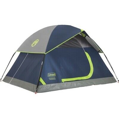 Coleman 2 Person - Coleman 2-Person 5 Ft. W. x 7 Ft. L. Dome Tent