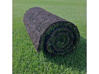 Top grade dense & lush fine lawn turf 15 sq. m