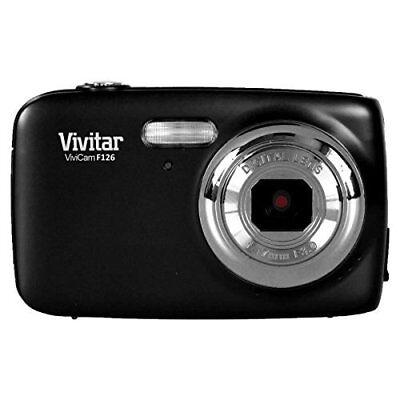 Vivitar Digitalkamera »ViviCam F126« schwarz 14 MP, 4x digital zoom 1,8''Display
