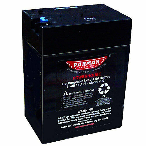 Parmak Replacement 6 Volt Battery