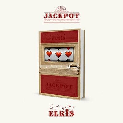 ELRIS [JACKPOT] 4th Mini Album RED Ver CD+POSTER+Book+Lenticular+28 Card+Sticker