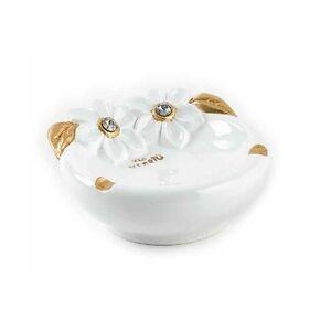 Posacenere via veneto ceramica oro oggetti soprammobile for Oggetti arredo casa