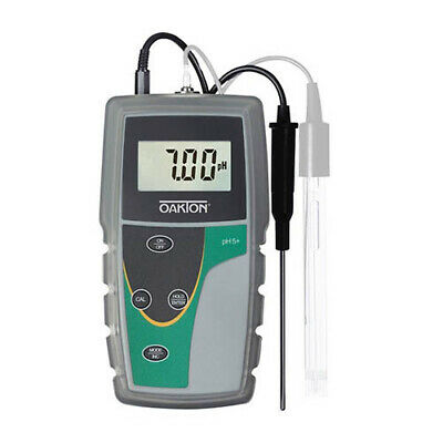 Oakton Wd-35613-20 Ph 6 Phmvtemperature Meter With Atc Probe Boot