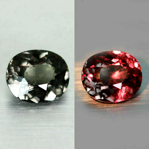 2.34 CT UNIQUE RARE 100% NATURAL EARTH MINED AAA++ TOP COLOR CHANGE GARNET GEM!