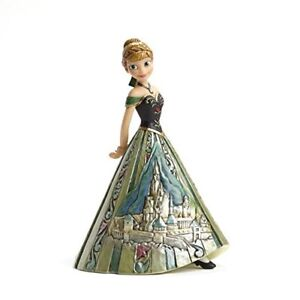 Disney Traditions Frozen Anna with Ice Castle Dress