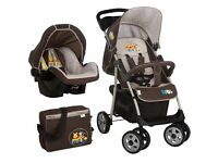 Winnie the Poo stroller & car seat by Hauk