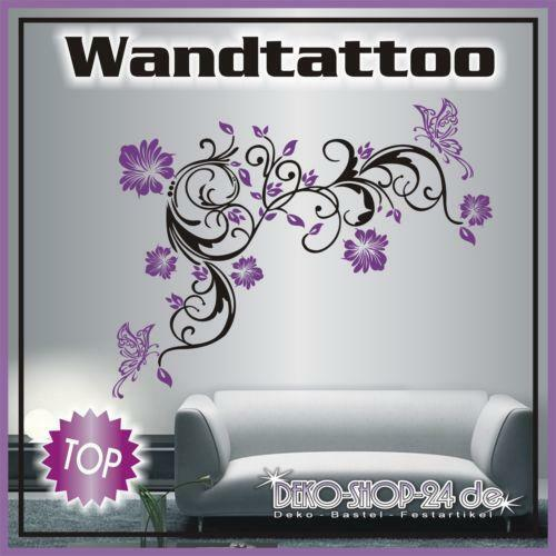 wandtattoos ranke motiv g nstig online kaufen bei ebay. Black Bedroom Furniture Sets. Home Design Ideas