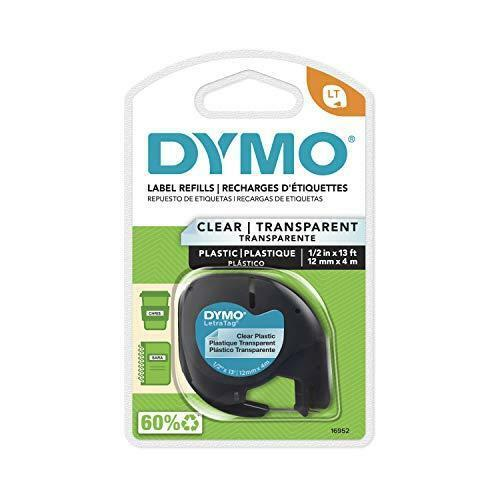DYMO - DYM16952 Authentic LetraTag Labeling Tape for LetraTag Label Makers,