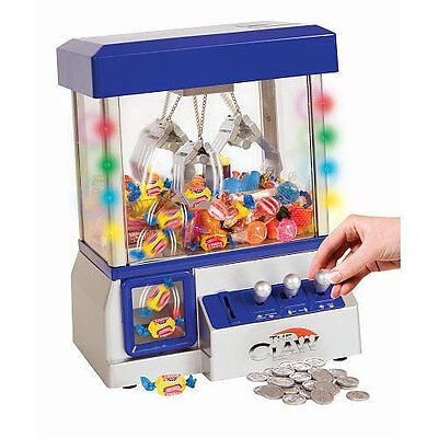 Carnival Claw Electronic Arcade Game Candy Toy Grabber LED Lights Crane Machine
