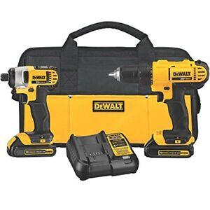 Dewalt  dck240c2 combo drill set