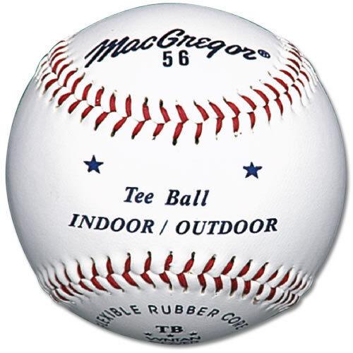 MacGregor #56 Official Tee Balls (One Dozen) MCB56TBX