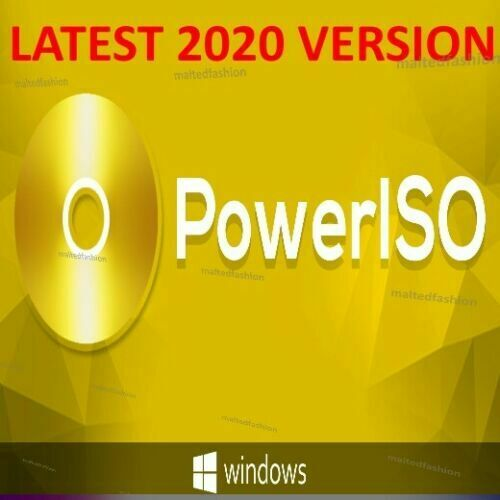 Power Iso 7.7 🔑Official Lifetime License KEY With 🔑 LATEST VERSION 2020