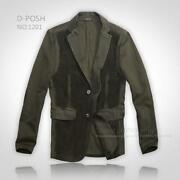 Mens Green Corduroy Jacket