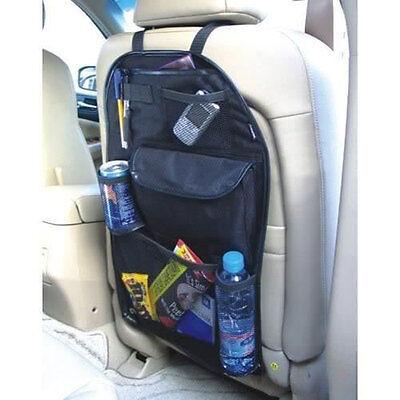 Car Back Seat Organiser Multi Pocket Storage Travel Tidy Bag Holder Kids Toys UK