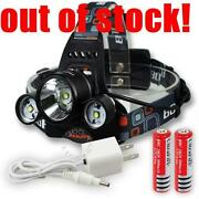 CREE Headlamp Rechargeable