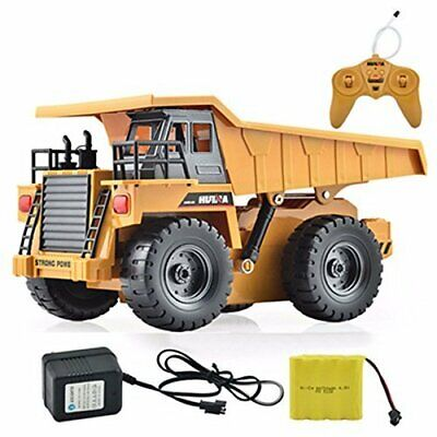s-idee® S1540 RC Kipper 6 Kanal LKW Tieflader Truck 1:18 mit 2,4 GHz  (Rc Tieflader)