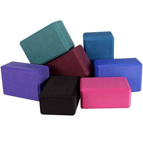 set of 10 Yoga Pilates EVA Foam Block / Brick! Stretch Exercise Gym
