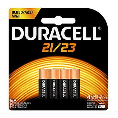 4 Pack Duracell A23 Batteries 12V 23A, A23BP, GP23, MN21, 23GA, 23AE,21/23