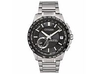 Citizen CC3005-85E Eco-Drive Satellite GPS Wave Sapphire Watch NEW Box Warranty