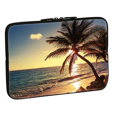 Design Notebook Schutzhülle 17,3 Zoll Laptop Hülle Tasche - Strand Beach Meer