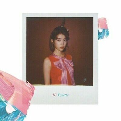 IU - [Palette] 4th Album CD+Booklet+PhotoCard+Gift+Trackin Feat.G-Dragon,Oh Hyuk