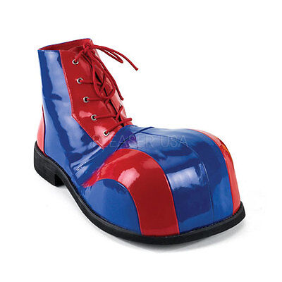 Adult Unisex Jumbo Oversized Circus Clown Bumpy Toe Halloween Costume Shoes (Clown Shoe)