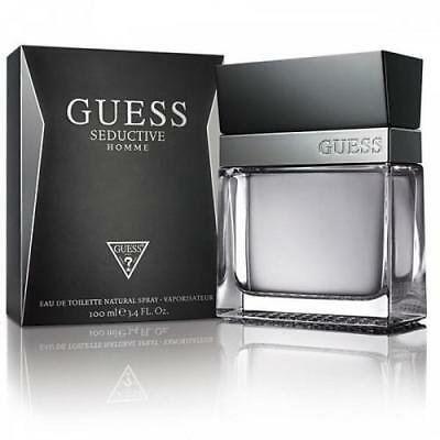 Guess Seductive Homme Cologne for Men 3.4 oz EDT Spray New in Box