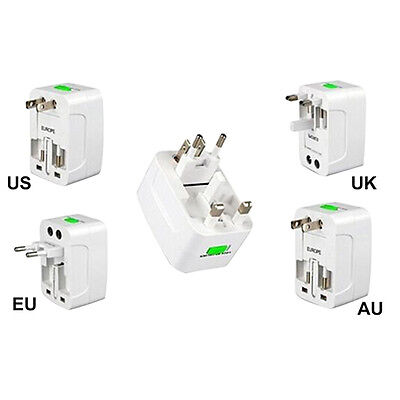Best New All in One International Travel Power Universal Adapter AU/UK/US/EU