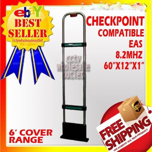 CHECKPOINTCompatible 8.2Mhz EAS Antenna Anti + BASEPLATE MADE IN USA