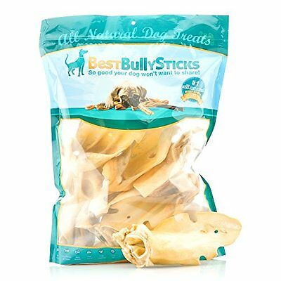 Best Bully Sticks Prime Thick-Cut Cow Ear Dog Chews (12 Pack), Sourced From