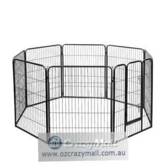 100cm Height 8 Panels Foldable Multi-layout Pet Dog Playpen