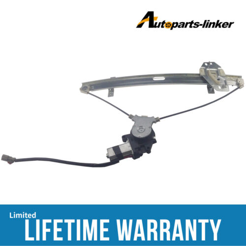 Window Regulator W/motor Left Fit Honda Accord Sedan 1998-2002 741-766